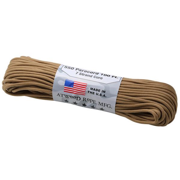 アトウッドロープ Atwood Rope パラコード タン 44020