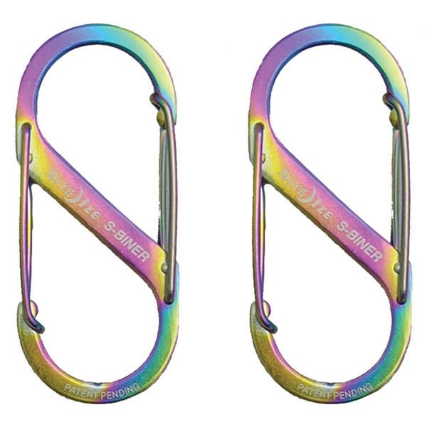 ナイトアイズ NITE IZE Sバイナー #1 スペクトル 2個 SB1-2PK-07