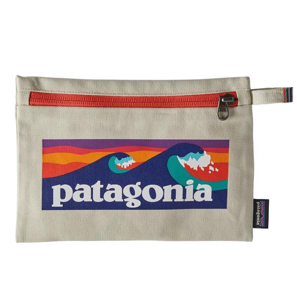 パタゴニア ジッパード・ポーチ ブロードショートロゴ・ブリーチストーン 59290-BLBE