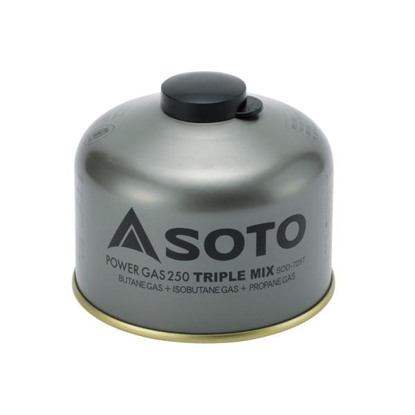 SOTO パワーガス250トリプルミックス SOD-725T