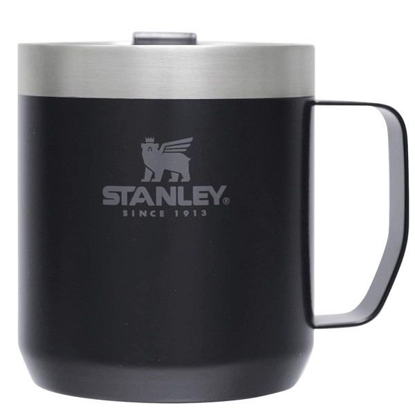 スタンレー STANLEY クラシック真空マグ 0.35L マットブラック 09366-014