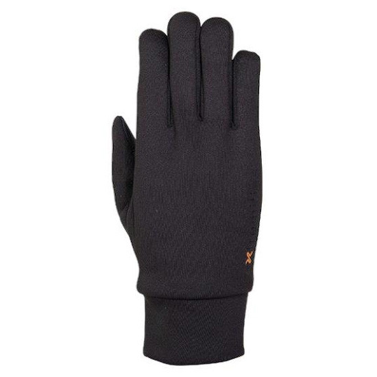 エクストリミティーズ by テラノヴァ 男女兼用手袋 ウォータープルーフスティッキーパワーライナーグローブ ブラック Mサイズ 22SWPG