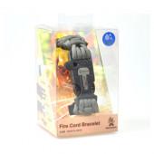 ブッシュクラフト ファイヤーコードブレスレット フォリッジグリーン Sサイズ 4573350720257