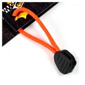 ブッシュクラフト ファイヤーコードジッパープル セーフティーオレンジ 02-03-550f-0014
