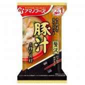 アマノフーズ いつものおみそ汁贅沢 豚汁 10食入り 20976