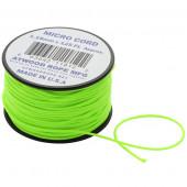 アトウッドロープ Atwood Rope マイクロコード ネオングリーン 44007