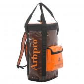 アーボプロ バケットバックパック 60L ブラウン×オレンジ AP0044