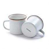 ベアボーンズ エナメルカップ 2個セット エッグシェル 20235021010000