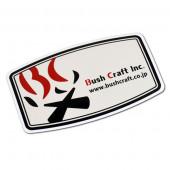 ブッシュクラフト Bush Craft Inc. ブランドステッカー 23319