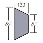 オガワ ogawa PVCマルチシート ツインクレスタ ハーフインナー用 1434