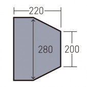 オガワ ogawa PVCマルチシート ツインクレスタフルインナー用 1435