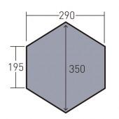 オガワ ogawa PVCマルチシート ツインピルツフォークL フルインナー用 1436
