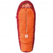 コールマン Coleman 子供用寝袋 キッズマミー アジャスタブル/C4 オレンジ 2000027271