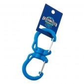 クレイジークリーク ダブルカラビナ Lサイズ ブルー 12598003002007