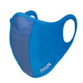 D&M ランナーマスク 大人用 サックス Mサイズ 109523