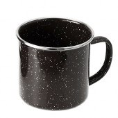 GSI ホーローマグカップ ブラック Sサイズ 11870087001003