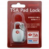 鍵 TSA南京錠GX シルバー 1316