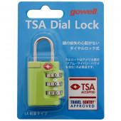 鍵 TSAダイヤルロックLX グリーン 1319