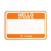 ヘリノックス Hello my name is パッチ ハンターオレンジ 19759017005000