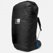 カリマー sac mac raincover/s 70-95L用レインカバー ブラック 80412