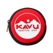 カブー KAVU サークルコインケース レッド 19820447034000