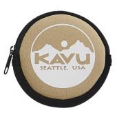 カブー KAVU サークルコインケース ベージュ 19820447037000