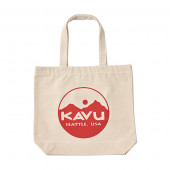 カブー KAVU サークルロゴトートバッグ レッド 19821031034000