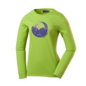 ラフマ LD CAMPEUR LS T コンペアTシャツ 女性用 PARROT GREEN Mサイズ LFV01084