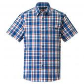 モンベル WIC.ライト シングルポケット ショートスリーブシャツ Men's コバルトブルー Sサイズ 1114282