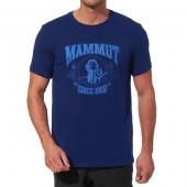マムート MAMMUT 男性用Tシャツ スローパーTシャツ ミッドナイト ユーロSサイズ(日本M)1041-02541-5348