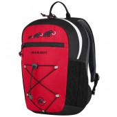 マムート 子供用リュックサック First Zip 8L ブラック/インフェルノ 2510-01542-0575