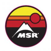 MSR サークルサンセットステッカー 36906