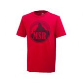 MSR ヴィンテージ Tシャツ レッド