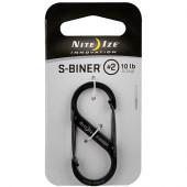 ナイトアイズ NITE IZE Sバイナー #2 ブラック SB2-03-01