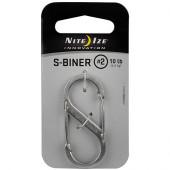 ナイトアイズ NITE IZE Sバイナー #2 シルバー SB2-03-11