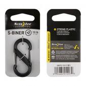 ナイトアイズ NITE IZE エスビナー プラスティック ブラックゲート #2 ブラック SBP2-03-01BG