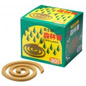 防虫線香 森林香 黄色 30巻入り 01106