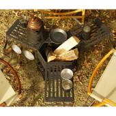 ネイチャートーンズ タワーオブボンファイヤー オプションテーブル(1個)耐熱ブラック OPTB-B