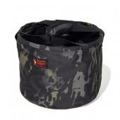 オレゴニアンキャンパー タイニー キャンプバケット ブラックカモ OCB-2034BC
