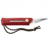 オルファワークス 替刃式ブッシュクラフトナイフ BK1 レザー レッド OW-BK1L-R