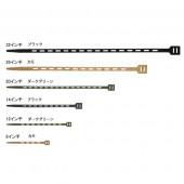 ワンタイ  ONE-TIE 12インチ(2本セット)ブラック 62004