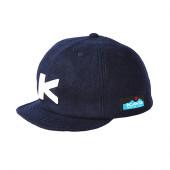 カブー KAVU ベースボールキャップ ウール ネイビー 19820318052000