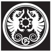 ペトロマックス Petromax 丸型ステッカー 13377
