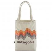 パタゴニア patagonia マーケット・トート リッジライズストライプ/ブリーチストーン 59280-RSBE