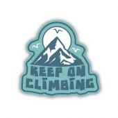 STICKERS NORTHWEST ステッカーズノースウエスト KEEP ON CLIMBING 0286-LSTK