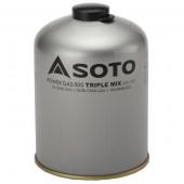 ソト SOTO パワーガス500 トリプルミックス SOD-750T