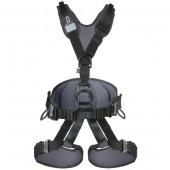 シンギングロック singing rock フルボディハーネス エキスパート 3D スピードバックル オールブラック Sサイズ SR0914