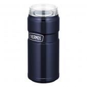 サーモス 保冷缶ホルダー 500ml ミッドナイトブルー ROD-005 1811700354