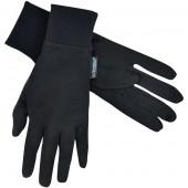 エクストリミティーズ by テラノヴァ 男女兼用手袋 シルクライナーグローブ ブラック Mサイズ 21SLG
