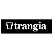 トランギア trangia ステッカーS ホワイト TR-ST-WT1